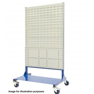 1400mm Louvre panel rack