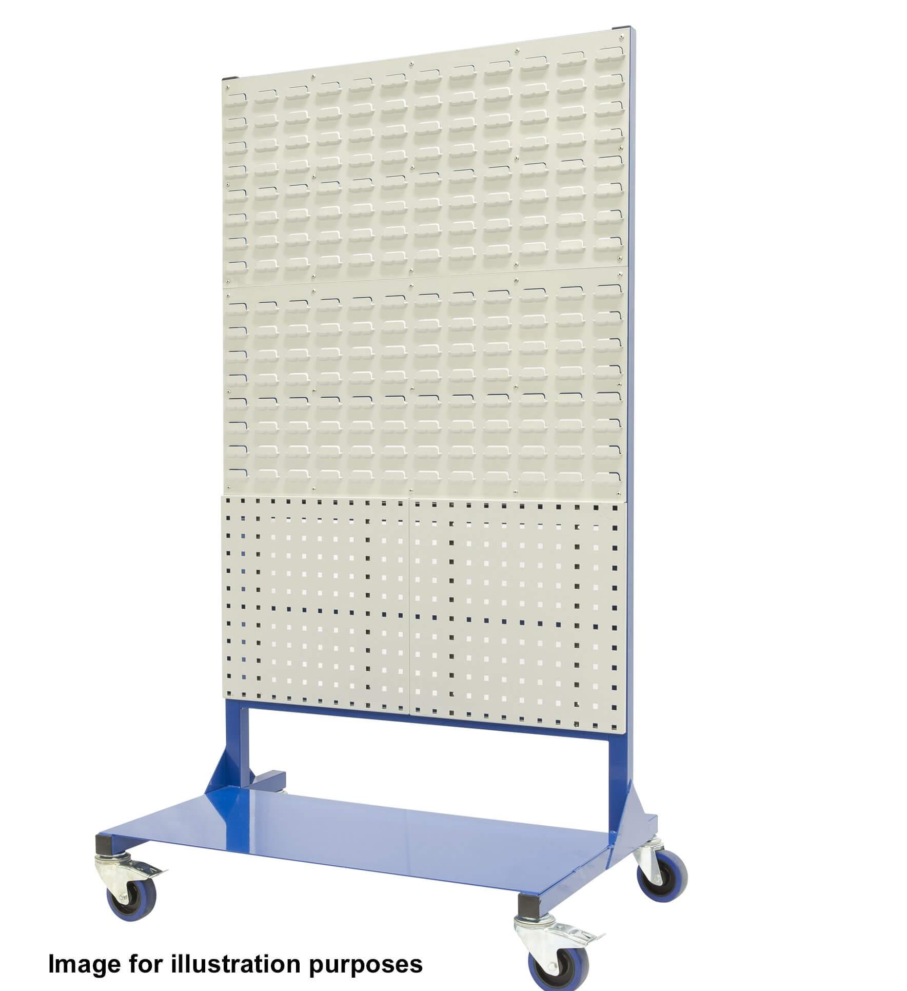 1400mm Louvre panel rack